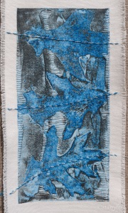 print on fabric with embroidery development